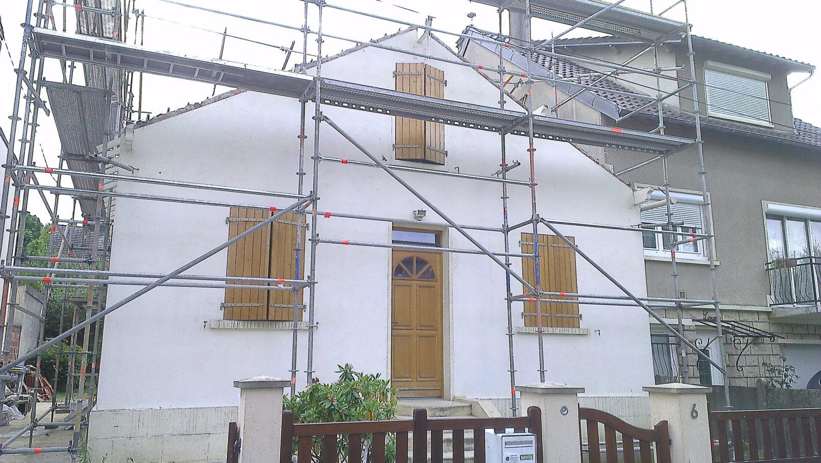 Surélévation de toiture - Tec Services